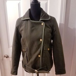 Zadig & Voltaire military green jacket Sz M